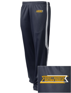 Washington High School Golden Eagles Embroidered Holloway Men's Tricotex Warm Up Pants