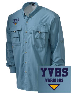 Ygnacio Valley High School Warriors Embroidered Men's Explorer Shirt with Pockets