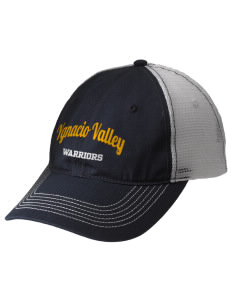 Ygnacio Valley High School Warriors Embroidered Mesh Back Cap