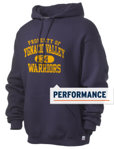 Ygnacio Valley High School Warriors Russell Men's Dri-Power Hooded Sweatshirt
