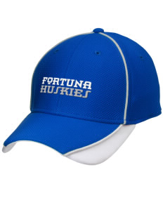 Fortuna Union High School Huskies Embroidered New Era Contrast Piped Performance Cap
