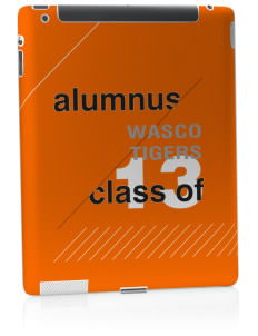 Wasco High School Tigers Apple iPad 2 Skin