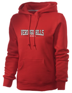 Verdugo Hills High School Dons Russell Women's Pro Cotton Fleece Hooded Sweatshirt