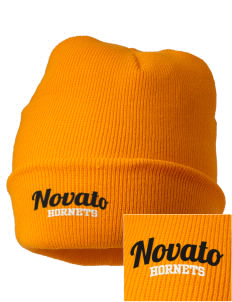 Novato High School Hornets Embroidered Knit Cap