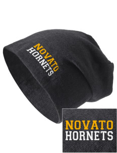 Novato High School Hornets Embroidered Slouch Beanie