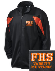 Foothill High School Mustangs Embroidered Holloway Men's Full-Zip Track Jacket
