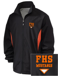 Foothill High School Mustangs Embroidered Holloway Men's Full-Zip Jacket