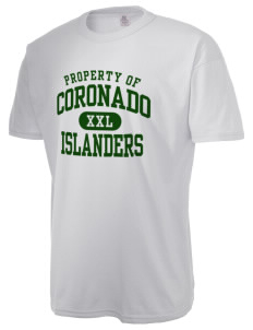 Coronado High School Islanders  Russell Men's NuBlend T-Shirt