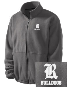 Ramona High School Bulldogs Embroidered Men's Fleece Jacket
