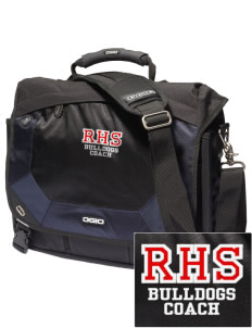 Ramona High School Bulldogs Embroidered OGIO Jack Pack Messenger Bag