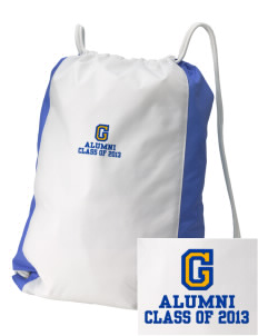 Gompers Secondary School Wildcats Embroidered Holloway Home and Away Cinch Bag