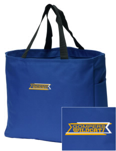 Gompers Secondary School Wildcats Embroidered Essential Tote