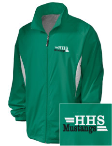 Homestead High School Mustangs Embroidered Holloway Men's Full-Zip Jacket