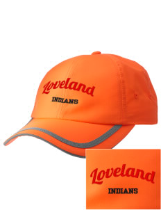 Loveland High School Indians  Embroidered Safety Cap