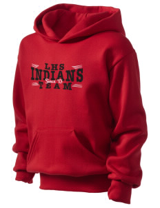 Loveland High School Indians Kid's Hooded Sweatshirt