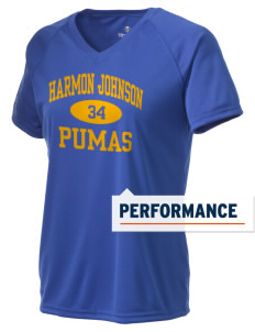 Harmon Johnson Elementary School Pumas Holloway Women's Zoom Performance T-Shirt