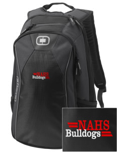 New Albany High School Bulldogs Embroidered OGIO Marshall Backpack
