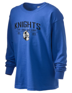Saint Thomas More School Knights Kid's 6.1 oz Long Sleeve Ultra Cotton T-Shirt