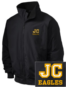Johnson Central High School Eagles Embroidered Holloway Men's Tall Jacket