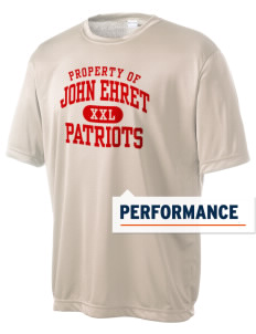 John Ehret High School Patriots Men's Competitor Performance T-Shirt