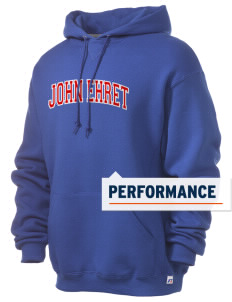 John Ehret High School Patriots Russell Men's Dri-Power Hooded Sweatshirt