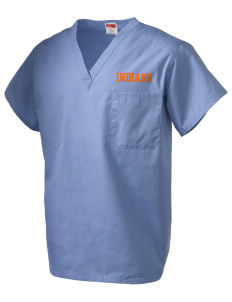 Marysville High School Indians V-Neck Scrub Top
