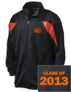 Billings Senior High School Broncs Embroidered Holloway Men's Full-Zip Track Jacket