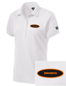 Billings Senior High School Broncs Embroidered OGIO Women's Jewel Polo