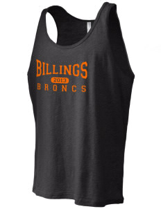 Billings Senior High School Broncs Men's Jersey Tank