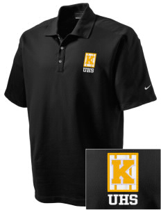 Uniondale High School Knights Embroidered Nike Men's Dri-FIT Pique II Golf Polo