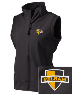 Pelham Pelicans  Embroidered Women's Glacier Soft Shell Vest