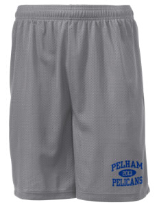 "Pelham Pelicans Men's Mesh Shorts, 7-1/2"" Inseam"