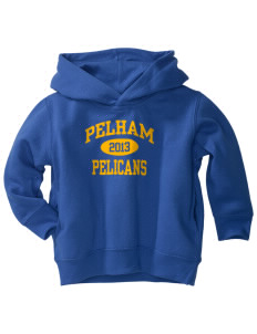Pelham Pelicans  Toddler Fleece Hooded Sweatshirt with Pockets