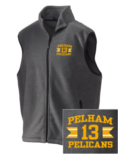 Pelham Pelicans Embroidered Unisex Wintercept Fleece Vest
