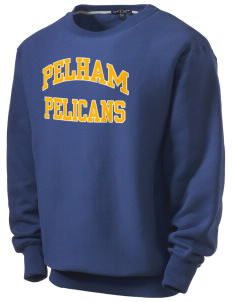 Pelham Pelicans Men's Heavyweight Crewneck Sweatshirt