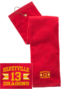 Silveyville Primary School Dragons Embroidered Hand Towel with Grommet