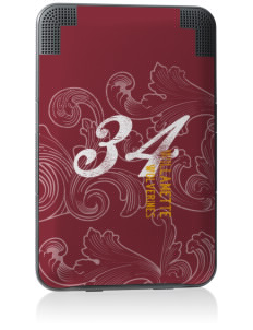 Willamette High School Wolverines Kindle Keyboard 3G Skin