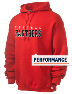 Central High School Panthers Russell Men's Dri-Power Hooded Sweatshirt