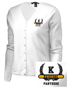 Keystone High School Panthers Embroidered Women's Stretch Cardigan Sweater