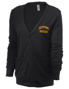 Keystone High School Panthers Unisex 5.6 oz Triblend Cardigan