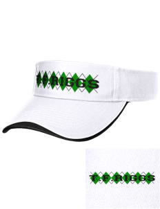 T.F. Riggs High School Governors Embroidered Binding Visor
