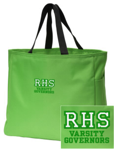 T.F. Riggs High School Governors Embroidered Essential Tote