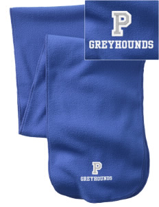 Pullman High School Greyhounds  Embroidered Extra Long Fleece Scarf