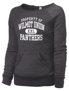 Wilmot Union High School Panthers Alternative Women's Maniac Sweatshirt