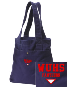 Wilmot Union High School Panthers Embroidered Alternative The Berkeley Tote