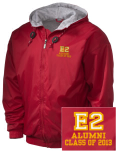 Elementary School 20 Bulldogs Embroidered Holloway Men's Hooded Jacket