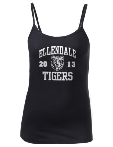 Ellendale Elementary School Tigers Women's Louise Longer Length Tank