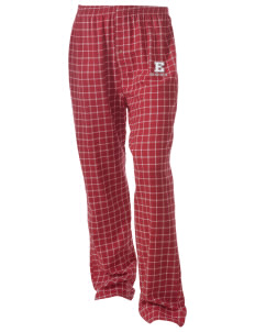 Ellendale Elementary School Tigers Unisex Button-Fly Collegiate Flannel Pant with Distressed Applique