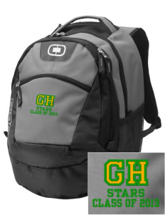 Gold Hill Elementary School Stars Embroidered OGIO Rogue Backpack