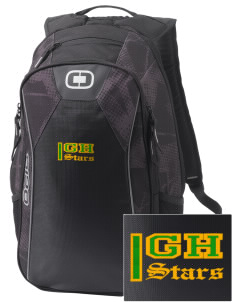 Gold Hill Elementary School Stars Embroidered OGIO Marshall Backpack